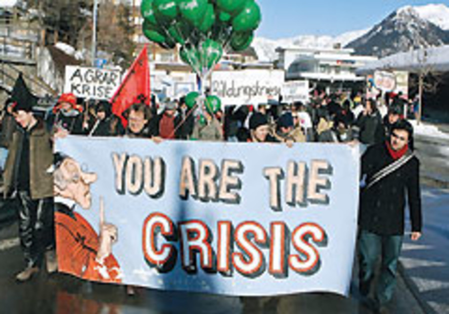 No answer at Davos forum to global meltdown