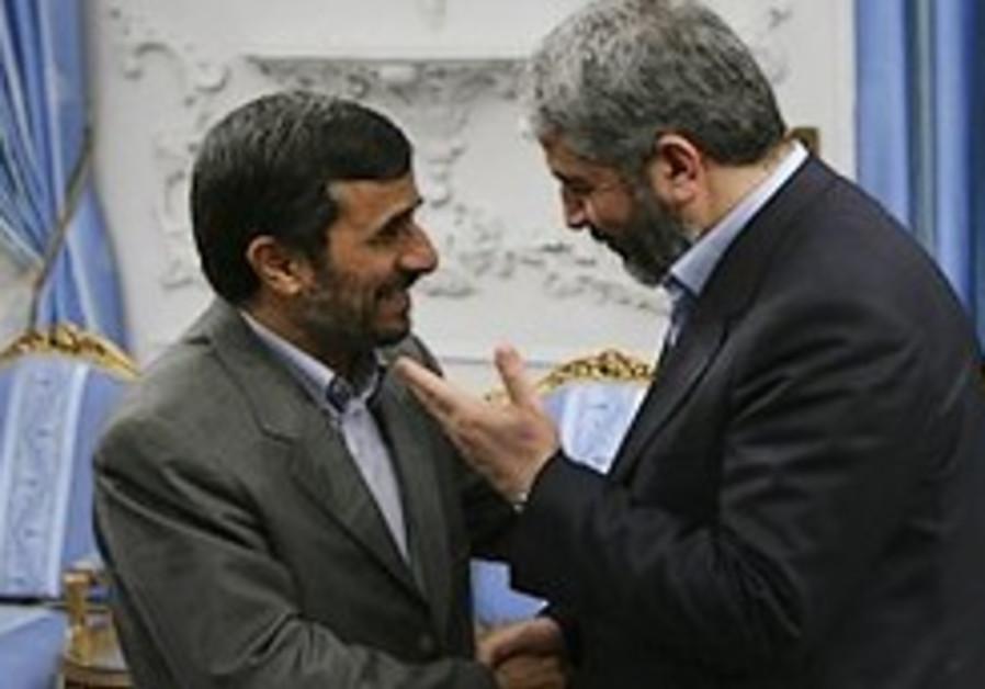 Hamas leader praises Iran for help in Gaza fight