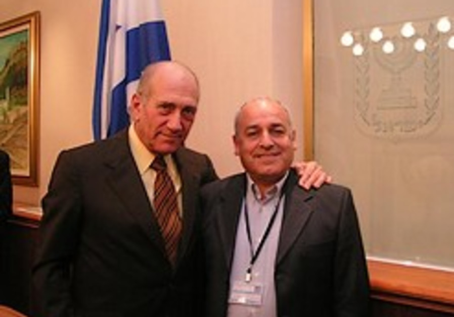 "Olmert to JNF UK solidarity mission: ""We will make Hamas regret they pushed us to take action"""