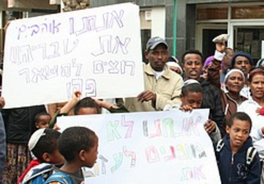 Ethiopian rights groups decry decision to close Tiberias absorption center
