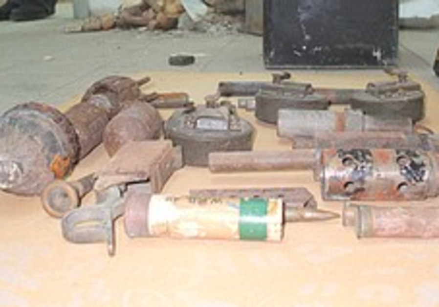Hagana weapons cache found in Hod Hasharon synagogue