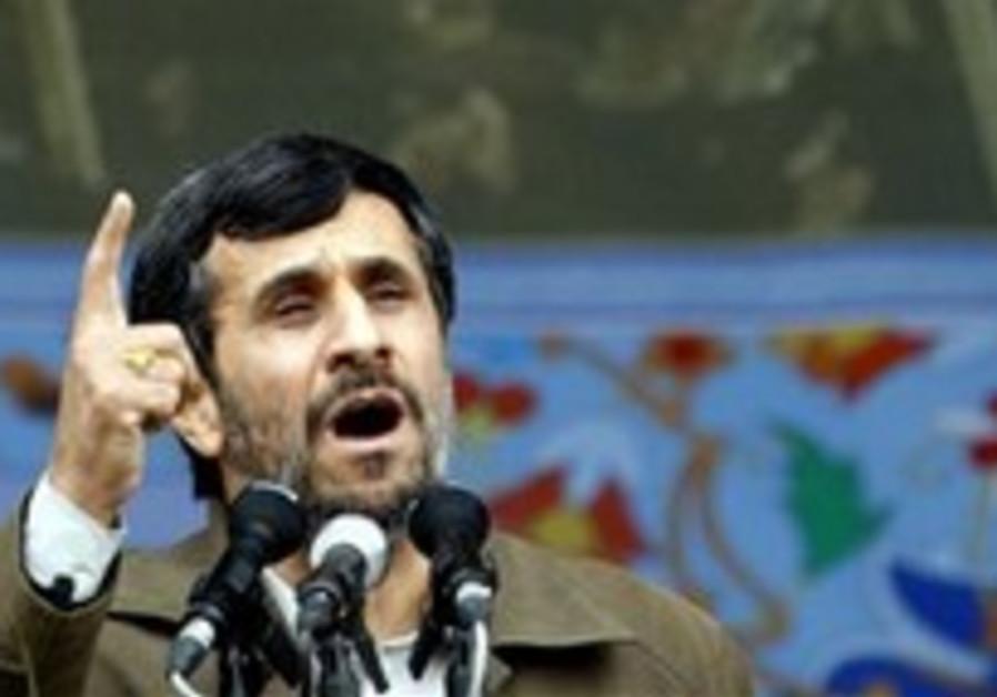 Iran's president blames West for economic crisis