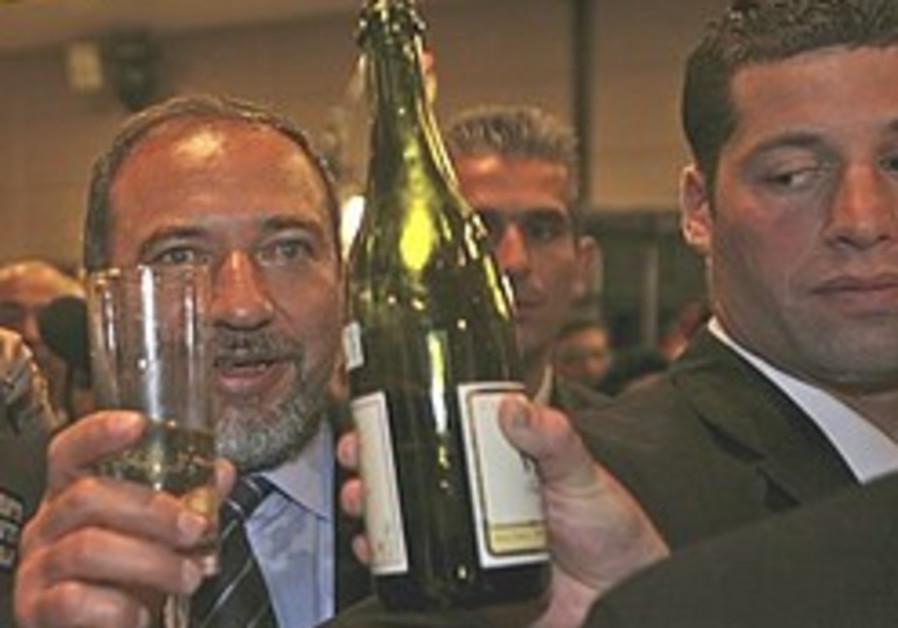 'Lieberman not really in rightist bloc'