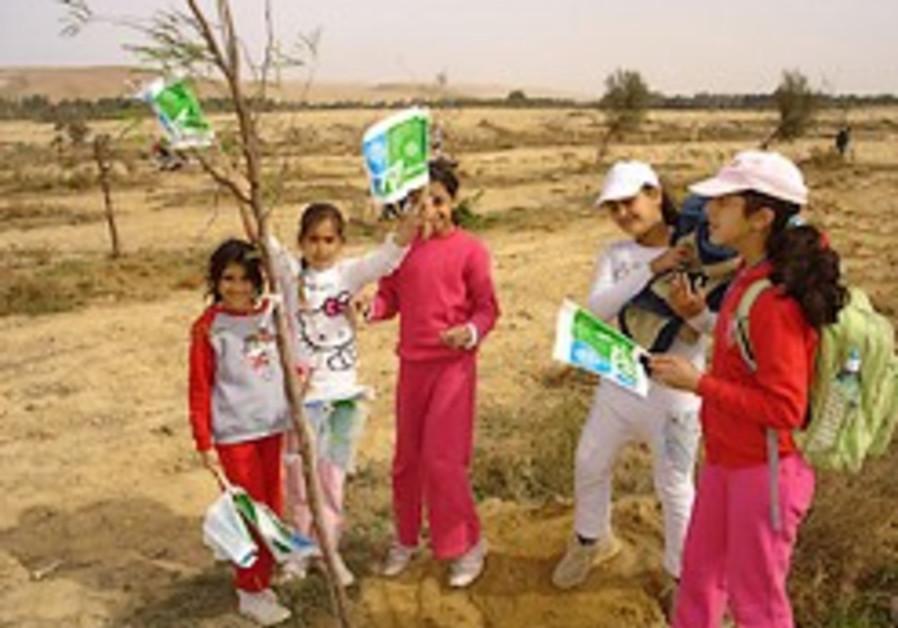 Making the desert green with friends of KKL-JNF Australia