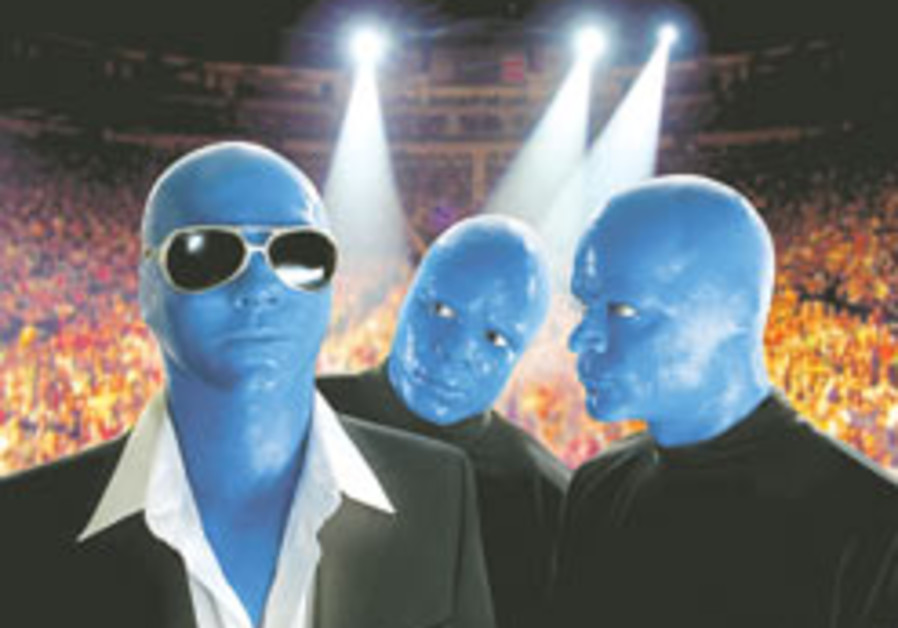 Theater Review: Blue Man Group