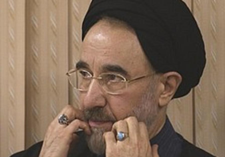 Khatami: Referendum can end Iran's election crisis