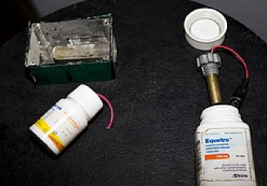 Hamas threw 'medicine grenades' at IDF