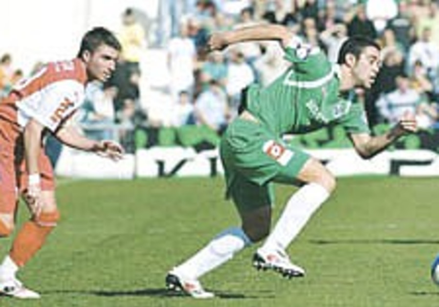 Soccer: Haifa gets revenge on Hap Ramat Gan