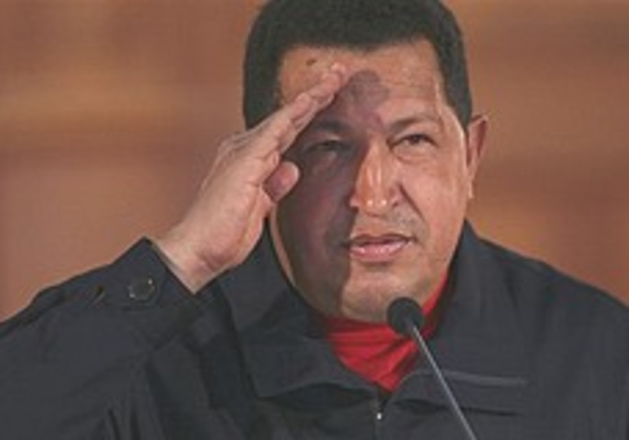 Venezuelans decide whether Chavez can run indefinitely