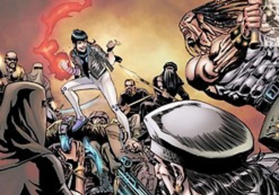 Muslim comic superheroes a hit in Arab world