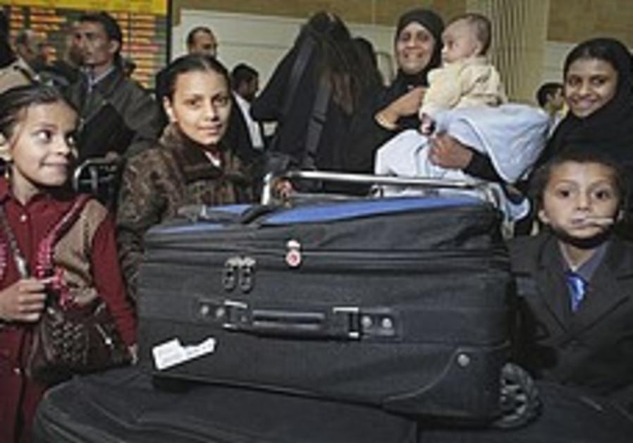 Yemenite family makes aliya in secret op