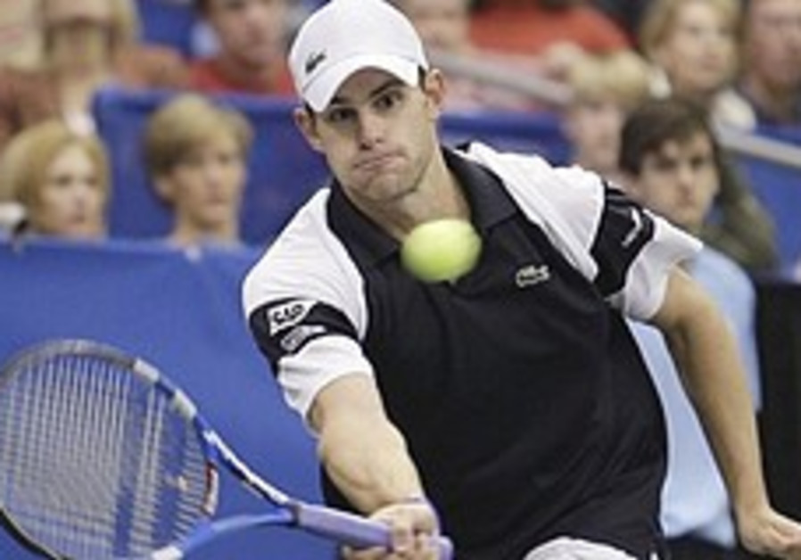 Sinai Says: Roddick steps up for Pe'er