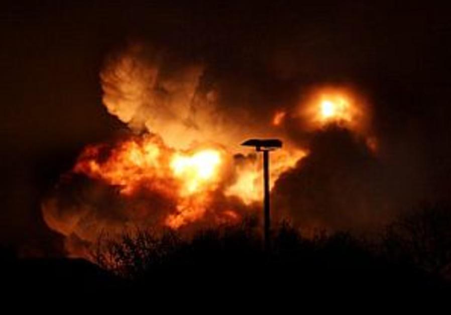 1 dead, five hurt in two fires