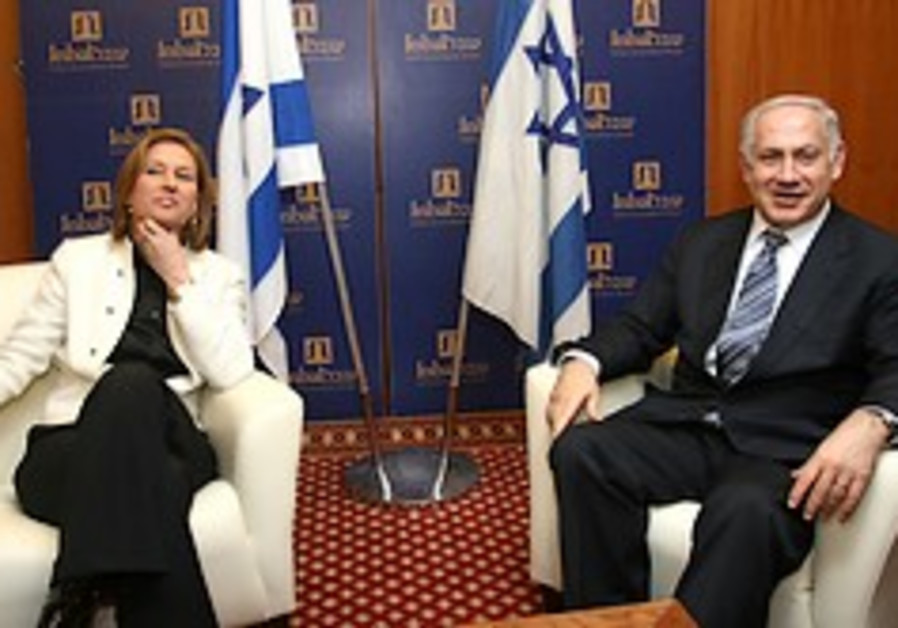 Kadima, Likud renew coalition efforts