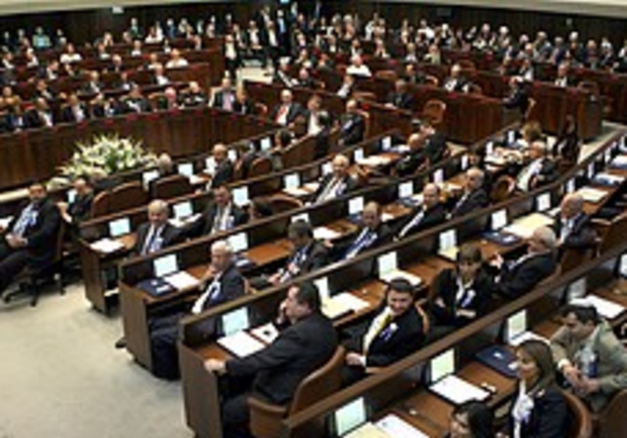 Knesset rookies enjoy the spotlight