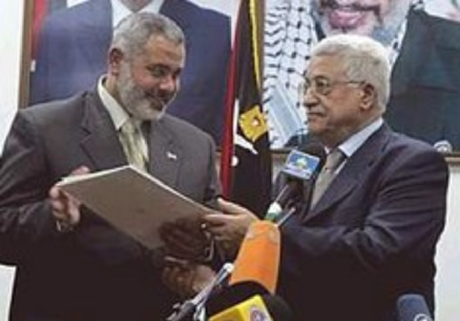 Poll: Haniyeh beats Abbas in West Bank, Gaza