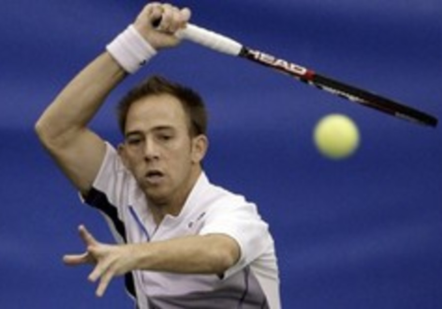 Tennis: Sela hitting stride ahead of Davis Cup