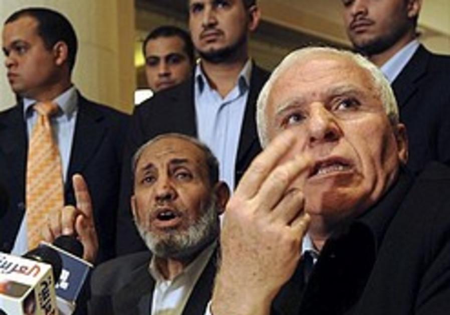Hamas, Fatah make effort to achieve 'national unity'