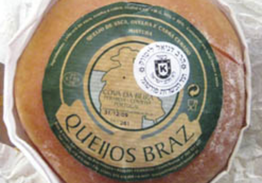 Kosher cheese certified in Portugal