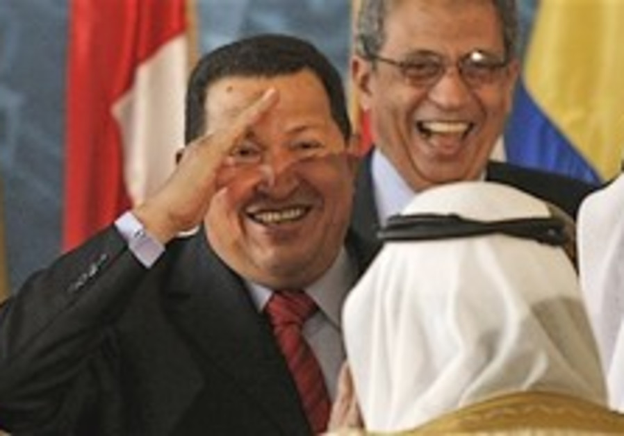 Chavez seeks Arab backing for 'petro-currency'