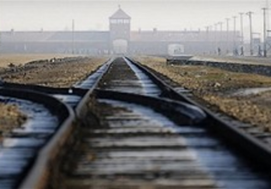 Workmen in Poland find hidden Auschwitz letter