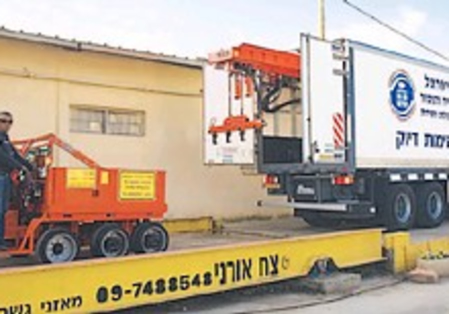 Firm officially calibrates maximum weight for cargo trucks