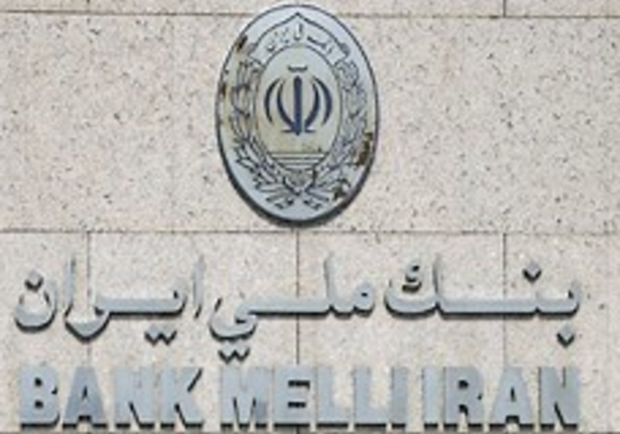 US sanctions 11 firms tied to Iran bank
