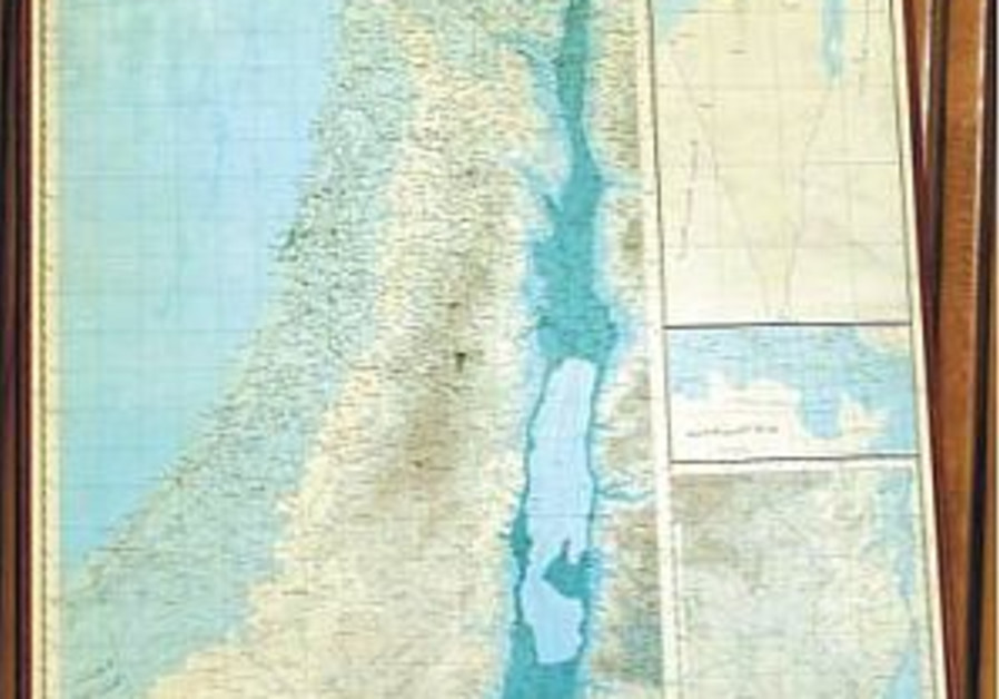Middle East map without Israel shown at UN gathering