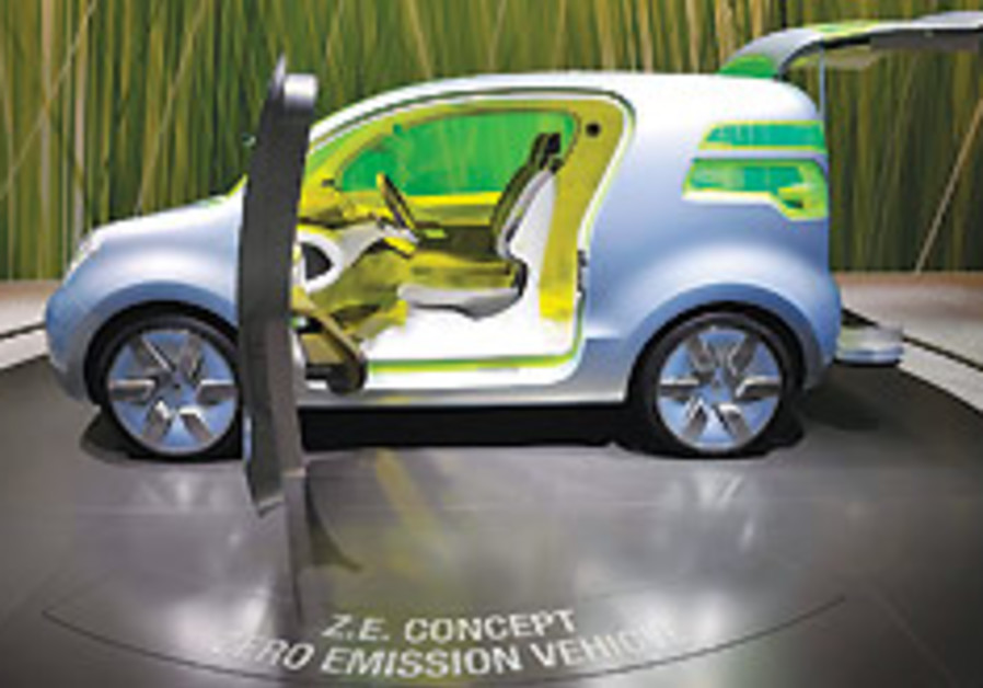 Electric cars center stage at Geneva