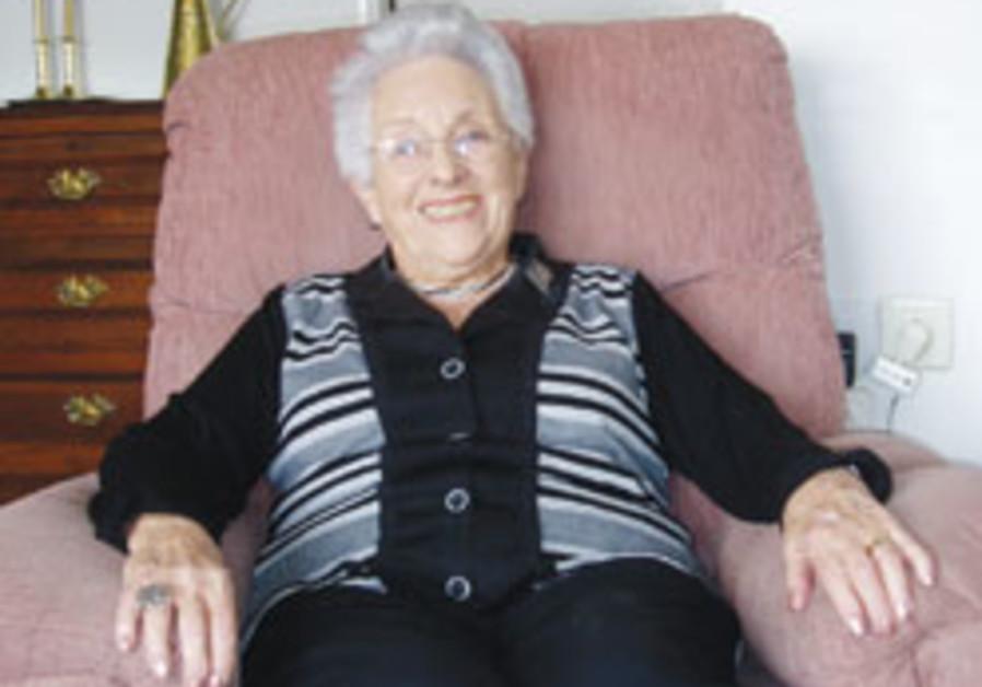 Veterans: Sara Schacter: From London to Jerusalem