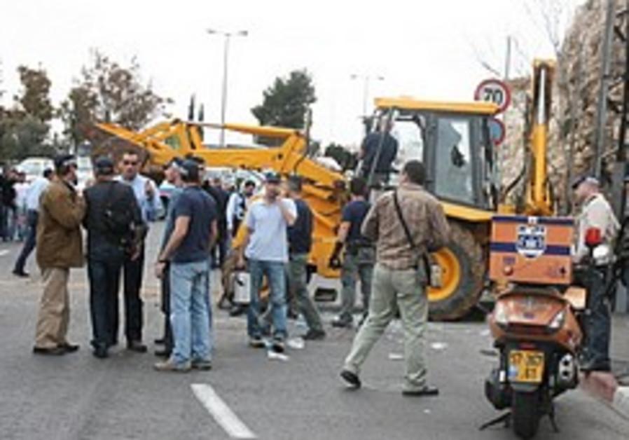 Police up Purim alert after J'lem attack