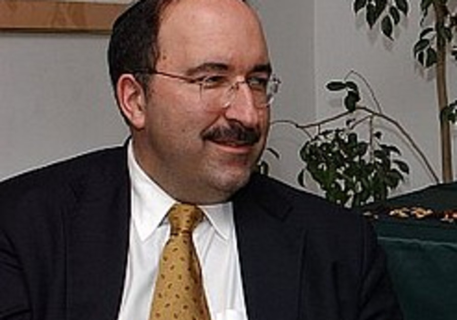 Dore Gold: J'lem sovereignty obviously not up for discussion