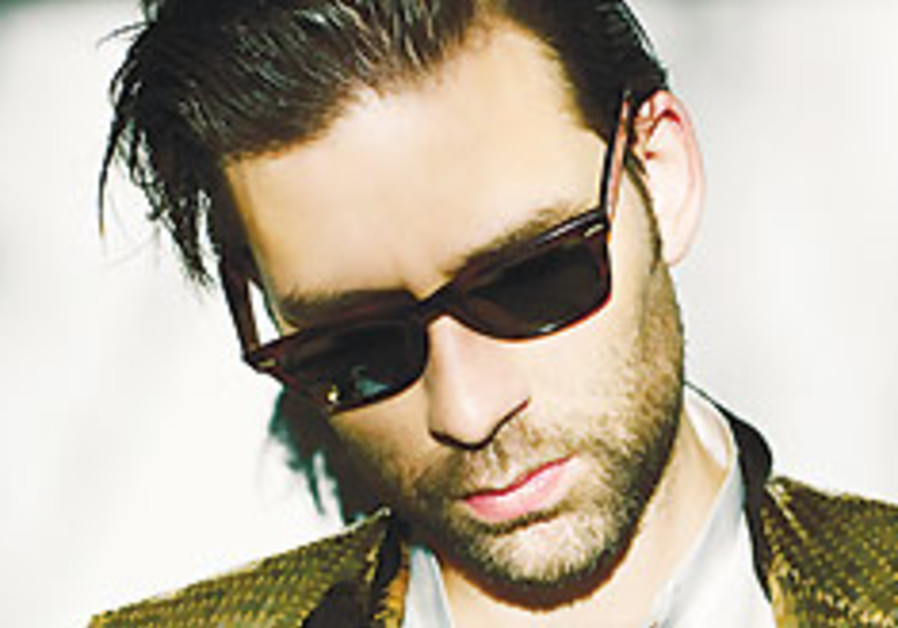 Jamie Lidell to harmonize in Tel Aviv