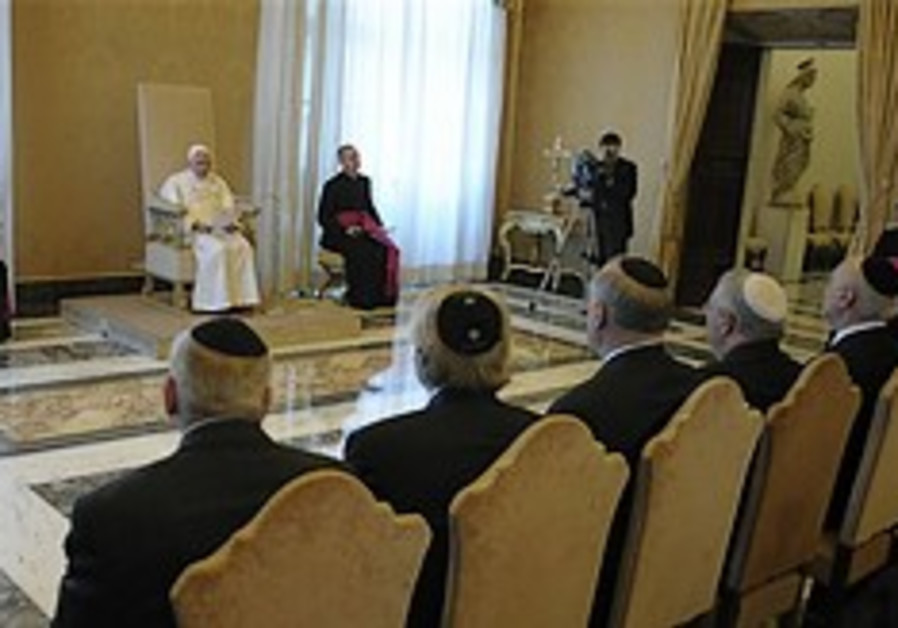 Catholics, Israelis discuss Christians in Holy Land