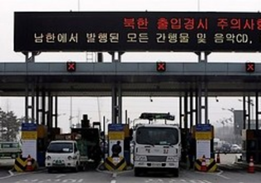 North Korea reopens border crossing to South