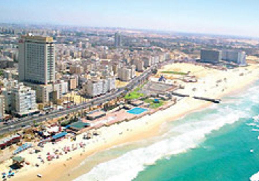 Bat Yam bucks the financial crisis