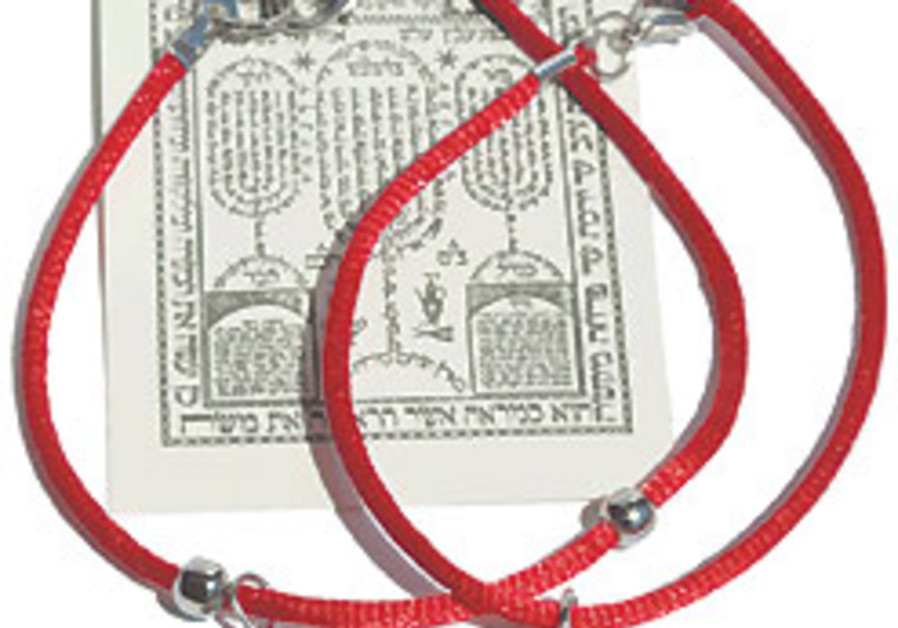 Ask the Rabbi: Red strings