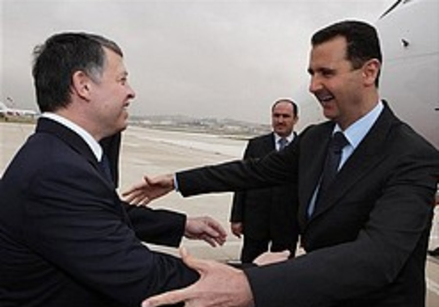Assad in Jordan for first time since 2005