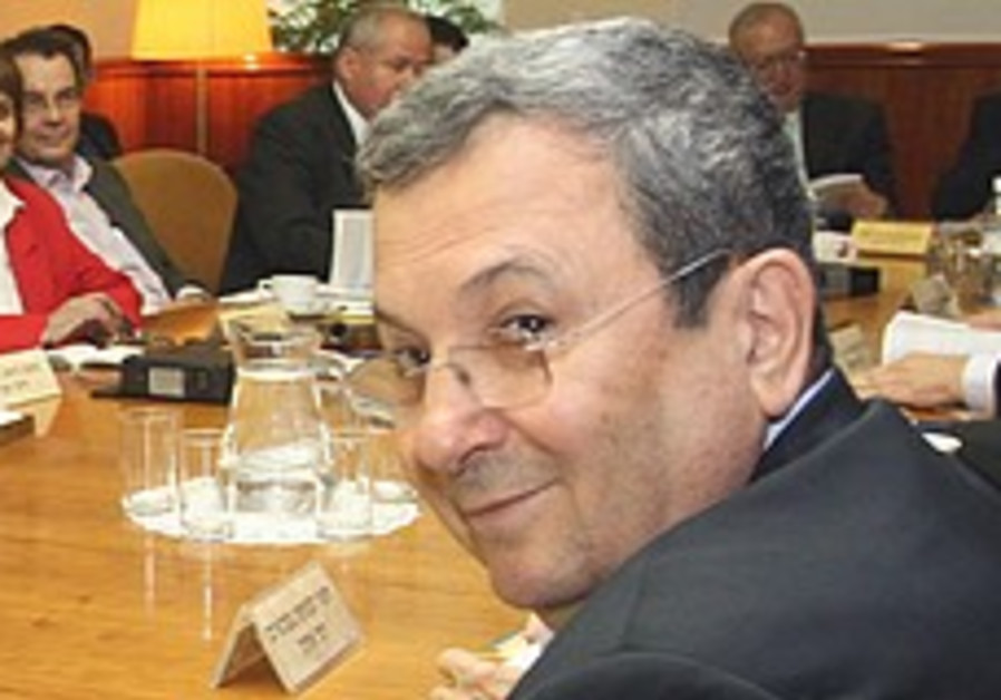 Barak gets approval to proceed with Cabel's removal