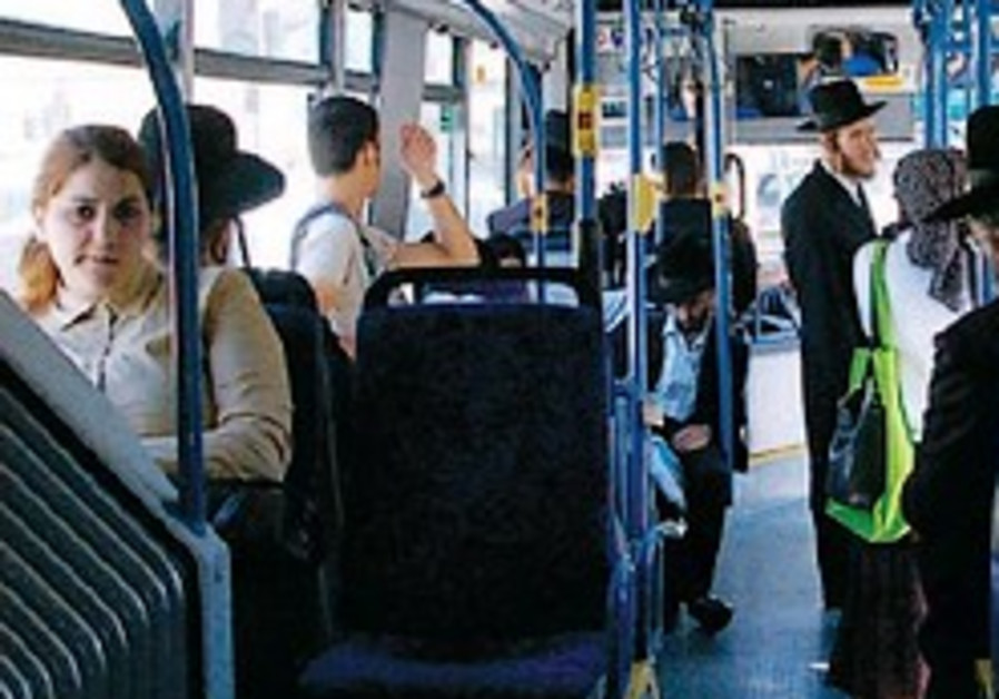 Transportation Ministry, haredim in row over segregated bus
