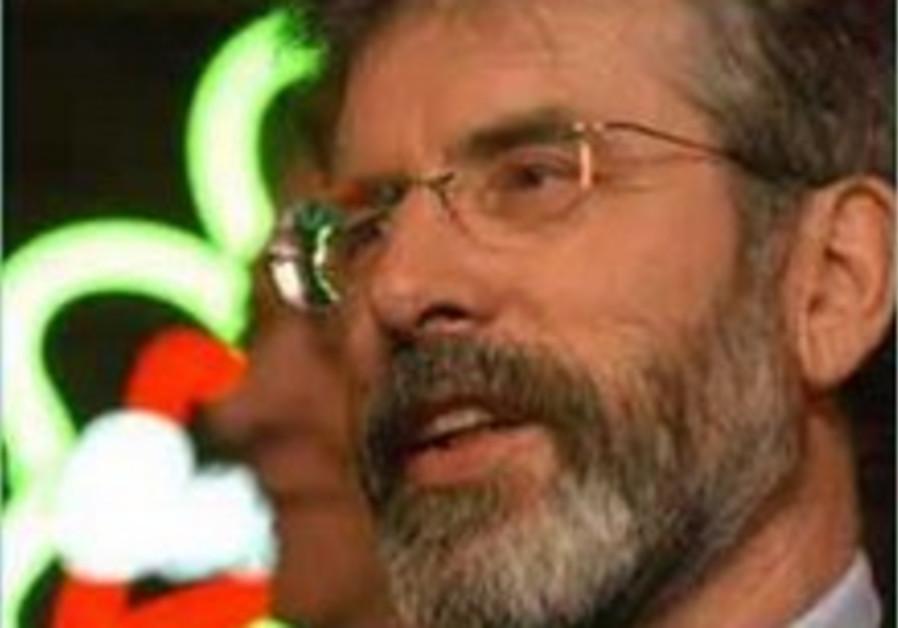 Israel won't meet Adams if he talks to Hamas