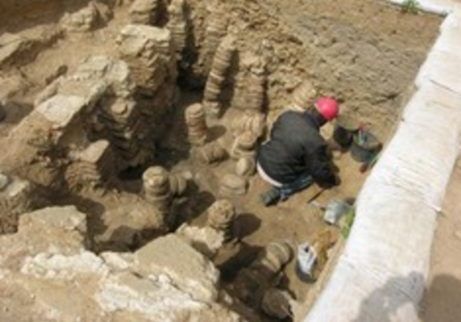 Byzantine bathhouse found near Sderot