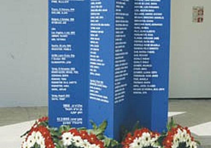 J'lem ceremony to memorialize Jewish victims of terror abroad