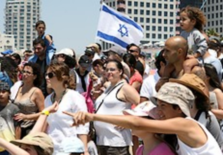 Israel's population grows by 1.8% to 7,411,000