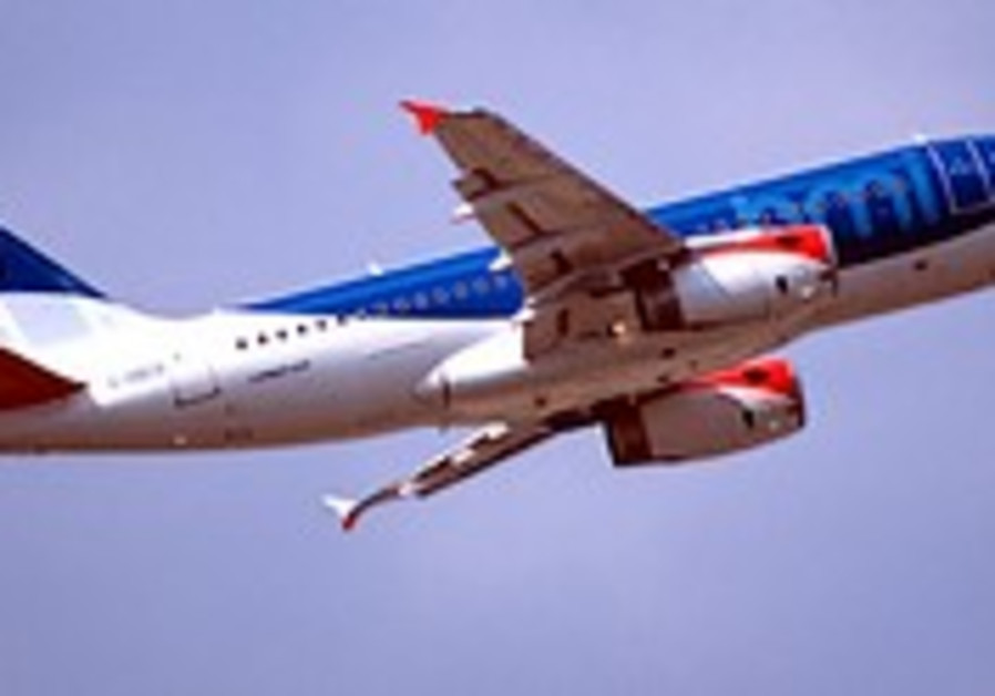 BMI airline wipes Israel off the map