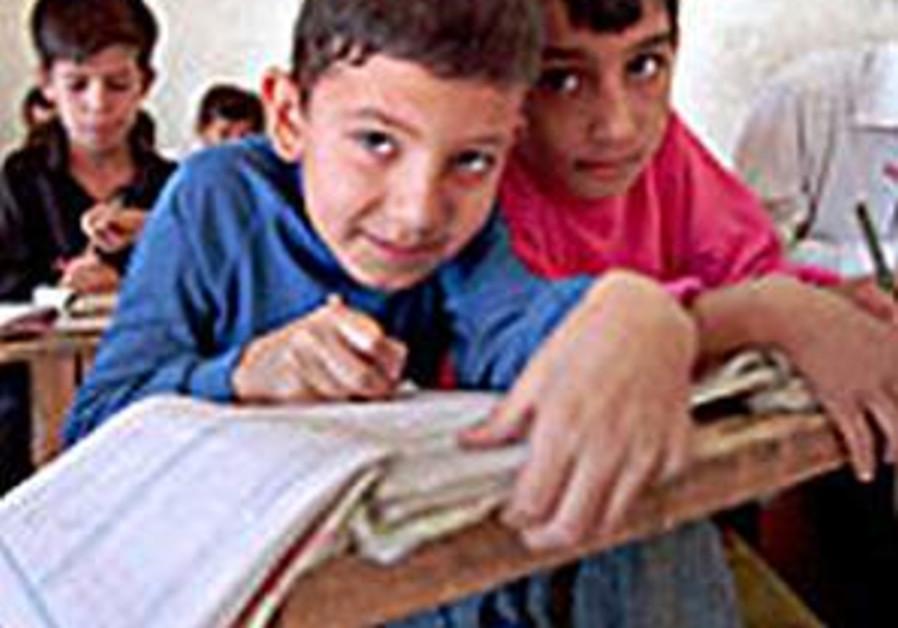 arab schoolchildren