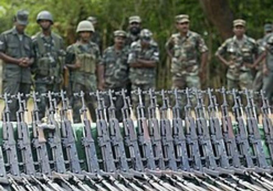 Sri Lanka: Latest fighting kills 14 rebels