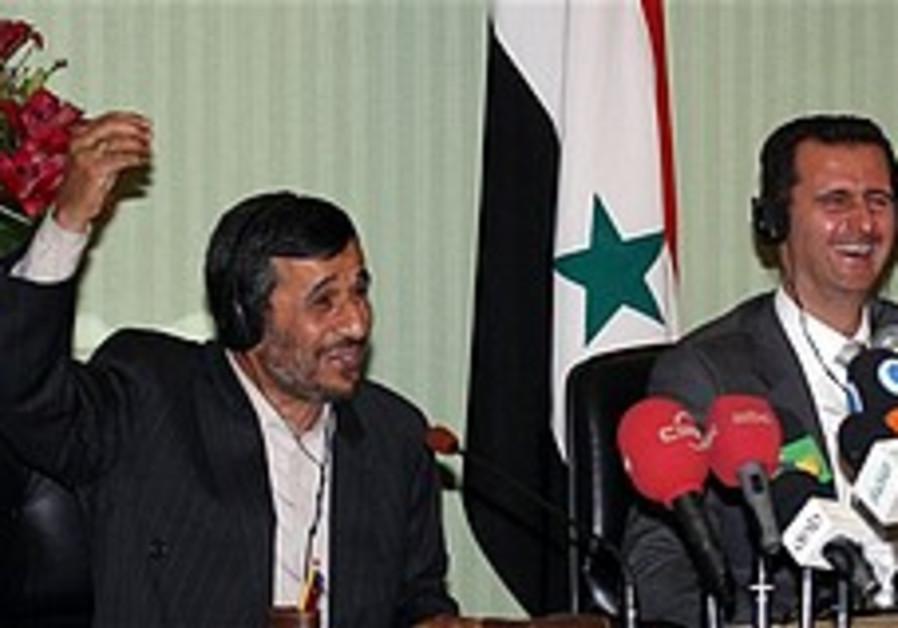 Ahmadinejad: Syria, Iran united against Israel