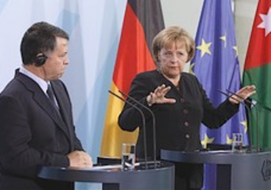 Merkel: No 2-state solution substitute