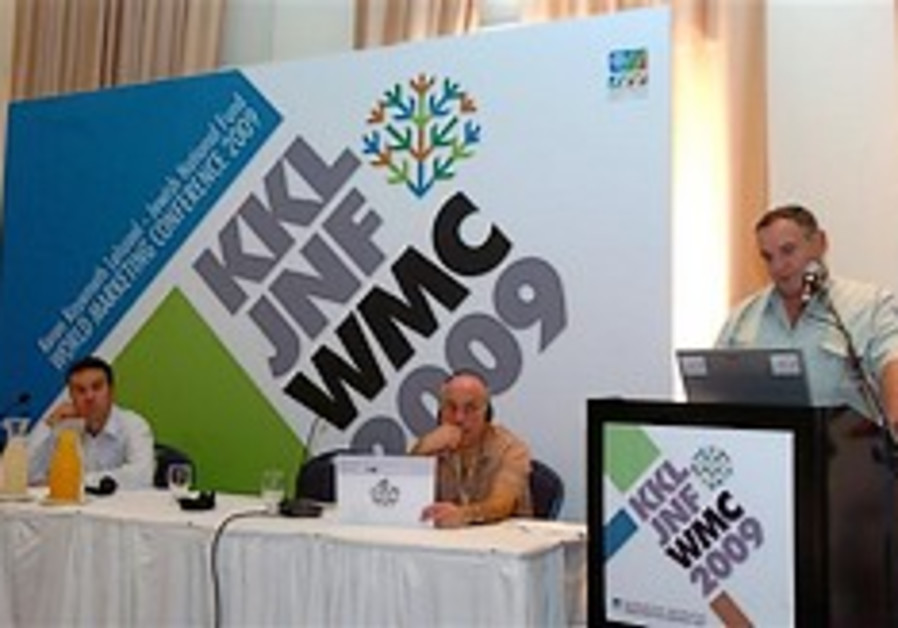 WMC addressing the global financial crisis & promoting Negev development